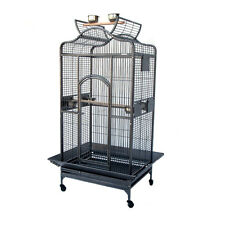 "Grande Open Roof Parrot Bird Aviary Cage 12428 H63"" New"