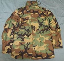 GENUINE US ARMY M65 BDU/WOODLAND M81 COLD WEATHER COMBAT JACKET. MEDIUM-LONG.