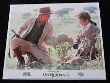 OUT OF AFRICA  lobby cards  MERYL STREEP, ROBERT REDFORD, SYDNEY POLLACK