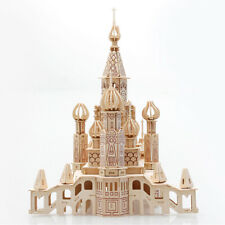 Kids Girl Boy DIY 3D Wooden Puzzle Model St Petersburg Castle Toy Jigsaw USA WP