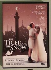roberto benigni THE TIGER AND THE SNOW nicoletta braschi / jean reno   DVD