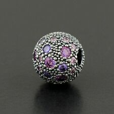 Authentic Pandora Charm Cosmic Stars, Fancy Purple Multi-Colored No.791286CFPMX