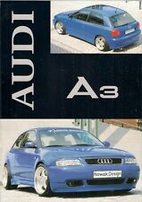 Audi A3 3-dr Nowak Design Bodystyling Accessories Late 1990s German Brochure