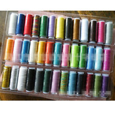 39 Pcs Colors Spool Polyester Finest Quality Sewing Machine Thread Cord String s