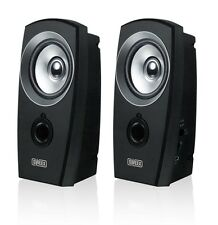 Sweex Universal Desktop USB 2.0 PC Mac Computer Stereo Speaker System Set