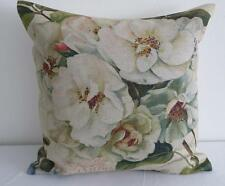 French Country 'Les Jardin' Flowers Linen Look Cushion Cover 45cmn