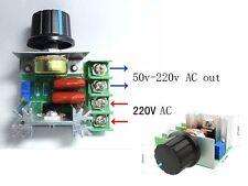 ELE Drehzahlsteller 220V 2000W SCR Spannungsregler Temperaturregler Dimmer