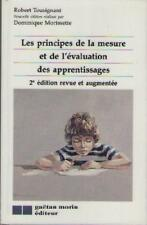 Principes de la Mesure et L'evaluation des Apprentissages - Tousignant Morisette