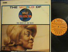 ► Dinah Washington - The World of:  The Queen of the Blues  (Roulette 25260)