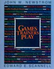 Games Trainers Play (McGraw-Hill Training Series) Scannell, Edward, Newstrom, J