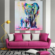 1Pc Art Vinyl Removable Decal Bedroom Wall Stickers Elephant Spray Home Decor