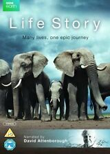 LIFE STORY DVD NARRATED BY DAVID ATTENBOROUGH - MANY LIVES, ONE EPIC JOURNEY