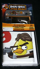 Angry Birds Star Wars Peel and Stick Wall Decals 24 pc Set room decor