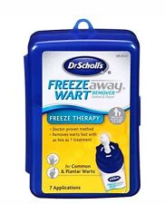 Freeze Away Wart  Plantar Remover Common Wart 7 Treatments Dr.Scholls box issues