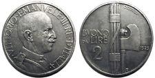 Buono da 2 Lire 1925 quasi SPL