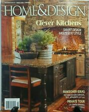 Home & Design Winter 2016 Clever Kitchens Smart Design Style  FREE SHIPPING sb
