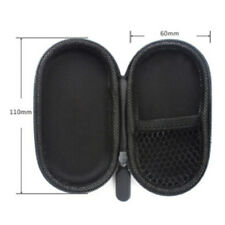 Black Hard Case Storage Bag Box For SD TF Card Earphone Headphone Earbuds WB