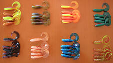 40 RELAX RUBBER FISH TWISTER - 8.0 CM USA HIT !!! 4