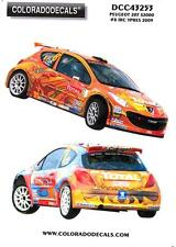 Colorado Decals 1/43 PEUGEOT 207 S2000 #8 IRC YPRES 2009