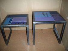"""Kit de 2 tables """"blaumix"""" laubholz + et cadre en métal Gutmann Factory"""