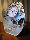 25TH WEDDING ANNIVERSARY GIFT SILVER WEDDING CLOCK GIFT # SILVER WEDDING PRESENT