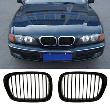 Practical 2Pcs Style Front Kidney Grille Grill For Car BMW E39 5Series 95-04