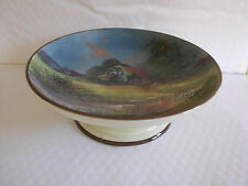 Royal Doulton D4390 Footed Bowl - English Cottage Series