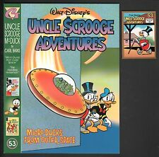 The Carl Barks Library in Color of Walt Disney's Uncle Scrooge 53 NM- +Card NM