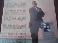 WES MONTGOMERY So Much Guitar 1986 FANTASY RECORDS USA STICKER ISSUE Sealed  LP