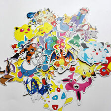 60pcs Pokemon go Pikachu Cartoon Stickers Skateboard Laptop Luggage Car Sticker