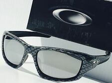NEW* Oakley VALVE CARBON FIBER w CHROME Iridium Lens Sunglass 9236-10 $240