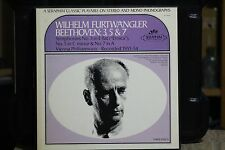 BEETHOVEN SYMPHONIES 3-5-7..3 LP BOX SET