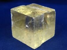 Optical Calcite Crystal - Naturally Occurring Rhomboid Crystal Spar