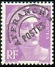 """FRANCE PREOBLITERE TIMBRE STAMP N° 102 """" MARIANNE 10F LILAS """" NEUF x TB"""