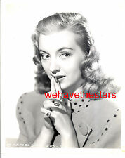 Vintage Evelyn Keyes GORGEOUS BEAUTY 40s Publicity Portrait by WHITEY SCHAFER