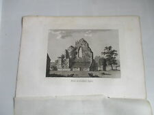 1787 CROWHERST SUSSEX   ENGRAVING FRANCIS GROSE