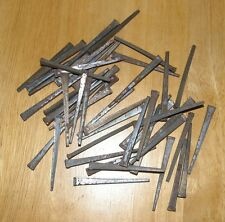 """Vintage Square Nail Hand Forged 2 1/4"""" Long Never Used Rustic Patina Lot of 50"""