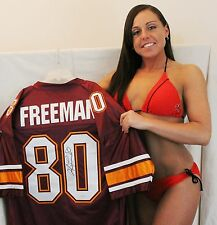 Antonio Freeman Signed Custom Jersey - Virginia Tech Hokie Legend
