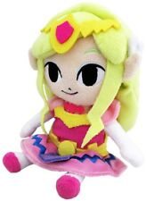 "Authentic Little Buddy Legend of Zelda Plush Doll Toy ~ 8"" Princess Zelda"