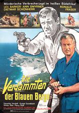 Verdammten der blauen Berge Kinoposter A1 Victim Five Lex Barker Ann Smyrner