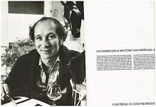Publicité Advertising 1978 (2 pages) La Liqueur Cointreau