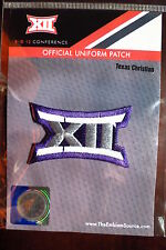 Official Licensed NCAA College Football Texas Christian BIG 12 Conference Patch