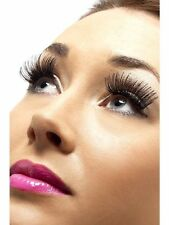 Halloween Fancy Dress Celebrity Black False Eyelashes Lashes & Adhesive - 21120