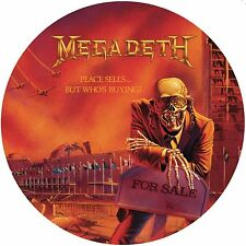 MEGADETH Peace Sells.. But Who's Buying ? 180gm Picture Disc Vinyl LP 2014 NEW