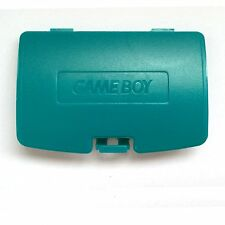 Teal Blue Nintendo GameBoy Game Boy Color GBC Battery Cover Lid Door
