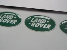 LAND ROVER emblem  DOMED sticker logo badge x4