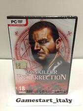PAINKILLER RESURRECTION - PC - NUOVO SIGILLATO VERSIONE ITALIANA