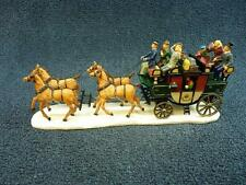 Lemax Village Collection Stage Coach #933066 NEW (h1560)