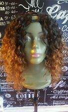 "100%hum hair u part wig 3/4 french curl  .260g  12-14"" 1b/30 3 day sale"