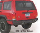 new in 1984-2001 Jeep Cherokee Black XJ XRC Rear Bumper with Hitch